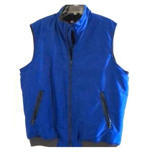 XL Men's CHAPS Vest, Royal Blue